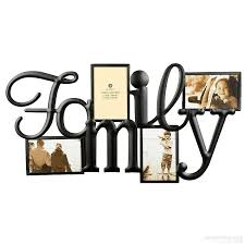 burnes photo albums f a m i l y words frame in copper wire 4 opening collage by burnes