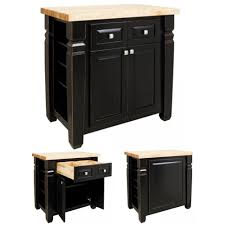 pennfield kitchen island appliance distressed black kitchen island home styles nantucket