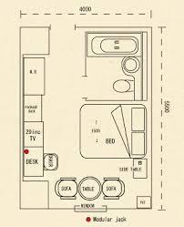 Typical Hotel Room Floor Plan Guest Rooms Hotel In Kobe Hotel Piena Kobe Official Website