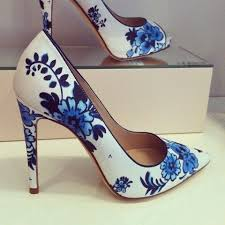 blue patterned shoes 410 best haute heels images on pinterest fashion shoes heels and