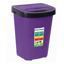 poubelle cuisine poubelle de cuisine city push 40l eda plastiques