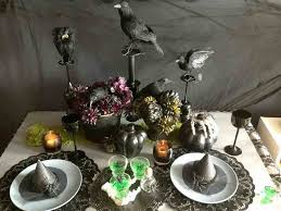 halloween lace tablecloth halloween table decorations to make