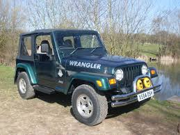 green jeep rubicon used jeep wrangler green for sale motors co uk