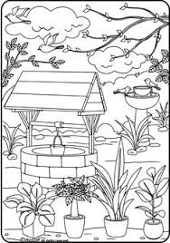 coloring pages for grown ups bohemian patio design coloring page how cool is this