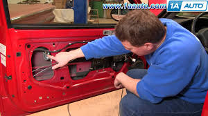 how to install replace power window regulator oldsmobile alero 99