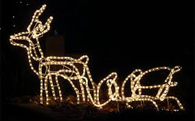 outdoor reindeer and sleigh lights reindeer with sleigh led