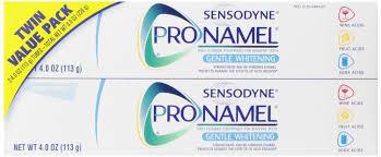 Discount Sensodyne Sensitivity Toothpaste For Sensitive Teeth Fresh Mint 4 Ounce Pack Of 2 Sensodyne Pronamel Gentle Whitening Toothpaste 2 Pack Rite Aid