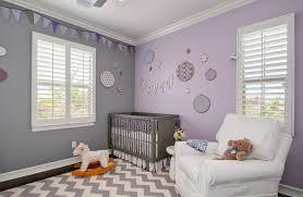 couleur pour chambre bébé des idées de chambres pour bébé décorées avec la couleur lavande