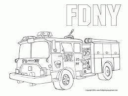 brilliant fire truck coloring page to really encourage in coloring