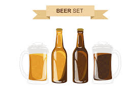 beer vector beer vector set illustrations creative market