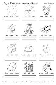 vowel diphthong worksheets and digraph worksheets printable