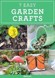 Diy Garden Crafts - 7 diy garden crafts to put a spring in your backyard u0027s step