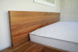 headboard with built in bedside tables king size kiaat bed with built in headboard and side tables