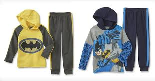 kmart 6 49 dc comics hoodie u0026 sweatpants 13 value