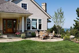 Front Door Patio Ideas Front Door Patio Ideas Patio Style With Gray Shingle
