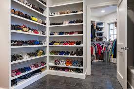 Shoe Closet With Doors Shoe Storage Ideas For Better Organizing