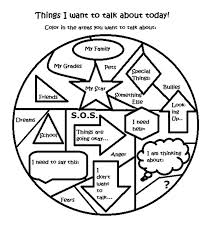 free art therapy counseling group activity worksheet social work