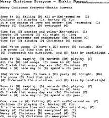 song merry everybody by slade with lyrics for vocal