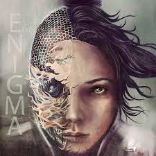 ava ex machina character for enigma cover cd by poison kcandy on