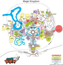Disney World Map Magic Kingdom by Magic Kingdom U2013 Touring Plans Drop Wait Times And