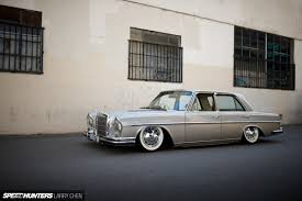 mercedes classic 2016 slammed elegance the perfect benz cruiser speedhunters