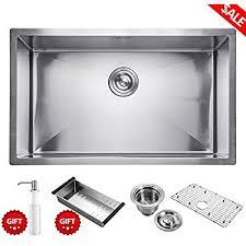 30 Inch Drop In Kitchen Sink Aguastella Stainless Steel Kitchen Sink 30 Inch Undermount Single