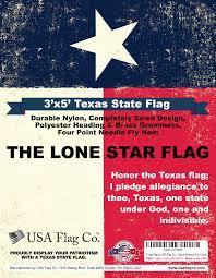 Flags At Half Mast In Texas Texas Flag 3x5 Foot Fully Sewn Design Usa Flag Co