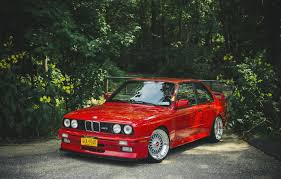 Bmw M3 Red - bmw e30 m3 red tuning bmw m3 red hd wallpaper