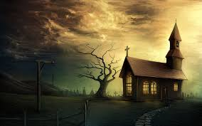 halloween wallpaper download church in halloween wallpaper 6979686