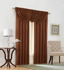 crepe waterfall valance