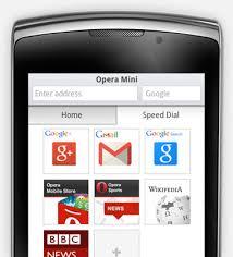Opera Mini Opera Mini For Mobile Phones Opera