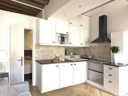 cuisine d appartement amenagement cuisine espace reduit maison design bahbe com