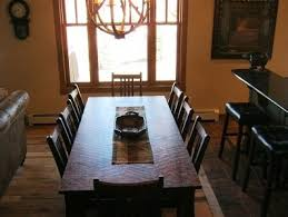 extra seating extra seating and large dining table home interiors