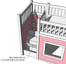 lovely bunk bed storage steps and best 25 ikea bunk bed hack ideas