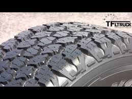 Goodyear Wrangler Off Road Tires New Goodyear Wrangler Pickup Tire Tech Demo Youtube