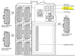 toyota hilux fuse box layout toyota wiring diagrams collection