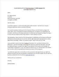 internship letter format best template collection