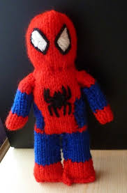 free spiderman knitting pattern toys spiderman