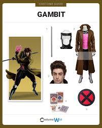 Gambit Halloween Costume Dress Gambit Costume Halloween Cosplay Guides