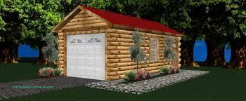 log cabin garage plans garage designs log cabin style interlocking timber garages log