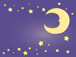 moon and stars free clipart