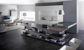 Modern Living Spaces Integrated Living Room And Kitchen Innovative Interior Ideas
