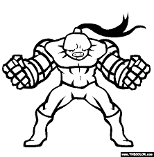 superheroes coloring pages 1