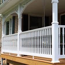 vinyl deck railing kits durables vinyl u0026 fairway vinyl decksdirect