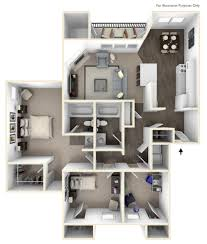 3 Bed 2 Bath Floor Plans by 3 Bed 2 Bath Apartment In Clackamas Or The Crossings