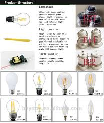 led edison bulb 1w 2w 4w 6w 8w led vintage edison filament light