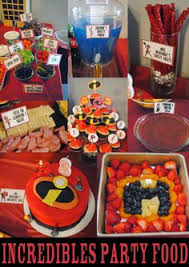 incredibles birthday party ideas incredibles birthday party