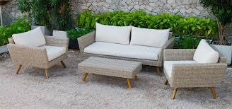 Patio Furniture Rattan Canary Collection Atc Furniture U2013 Rattan Wicker Patio Garden