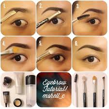 how do you put on eyebrow makeup saubhaya makeup