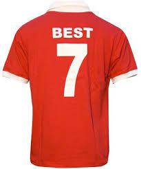 maglia george best george best maglia 7 manchester united 盪 football a 45 giri
